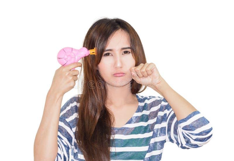 Download Kobieta Chwyta Zabawki Pistolet Obraz Stock - Obraz złożonej z sztuka, leisure: 53787433