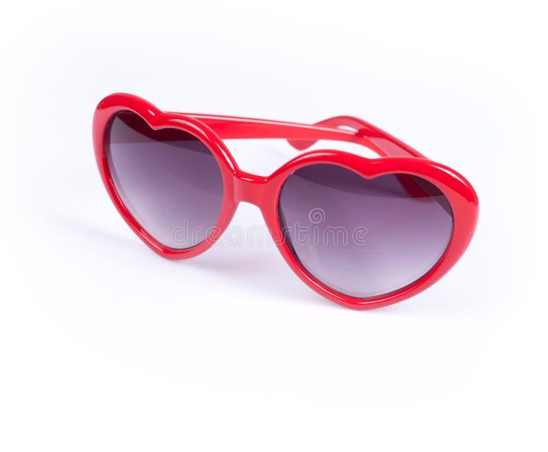 Download Kobieta Czerwoni Okulary Przeciwsłoneczne Zdjęcie Stock - Obraz złożonej z sunglasses, heart: 28961270