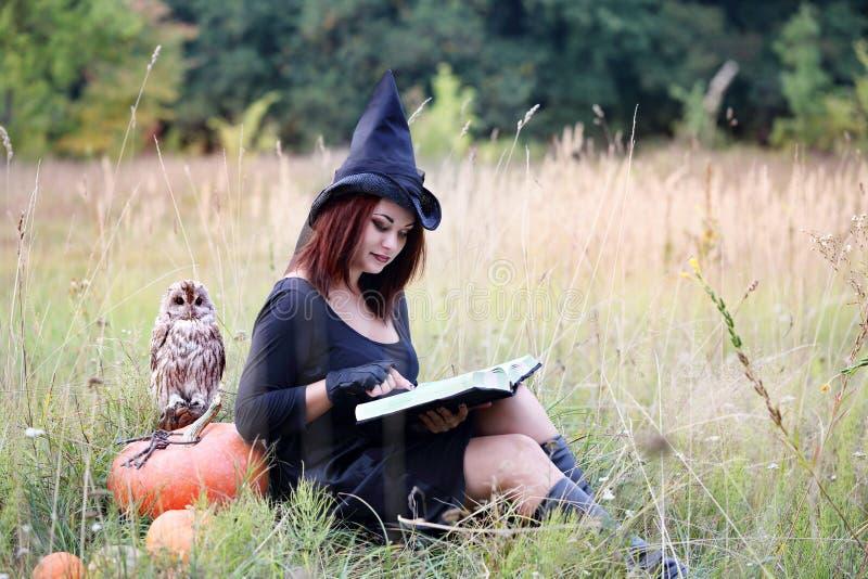 Kobieta czyta książkę obrazy stock