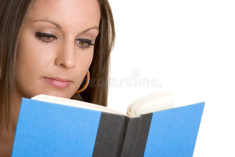 kobieta czytelnicza księgowa obrazy stock