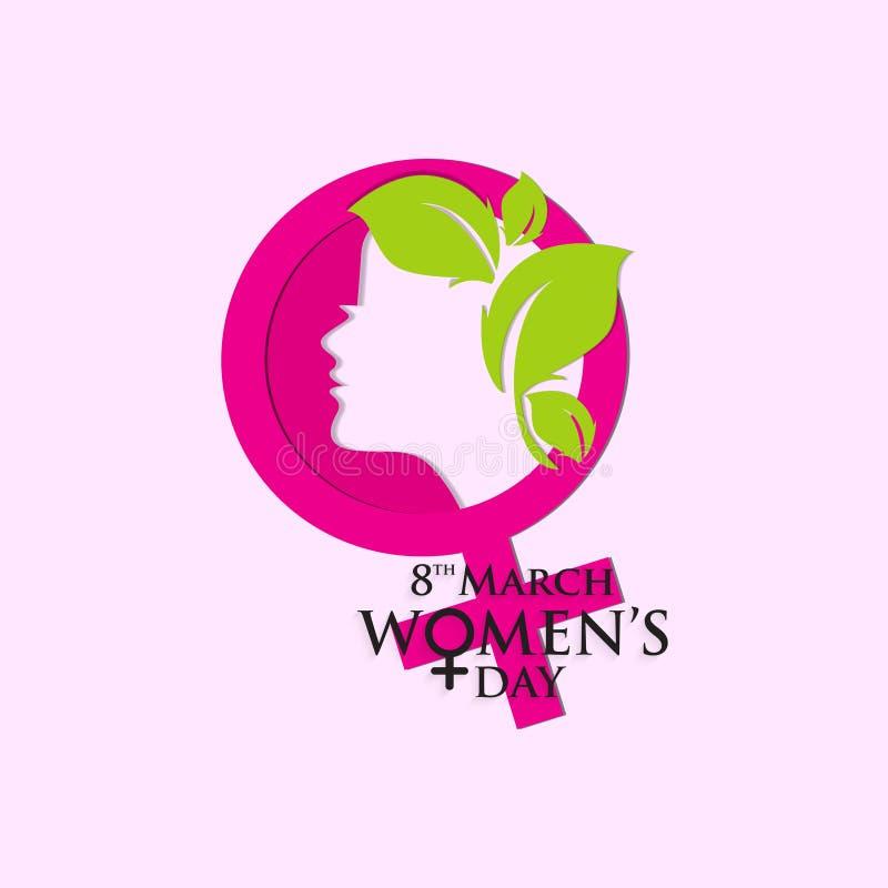 Kobieta dzień dla szacuneku kobiety ilustracja wektor