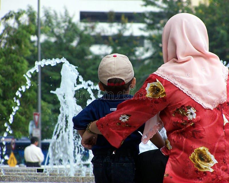 kobieta, dziecko zdjęcie royalty free