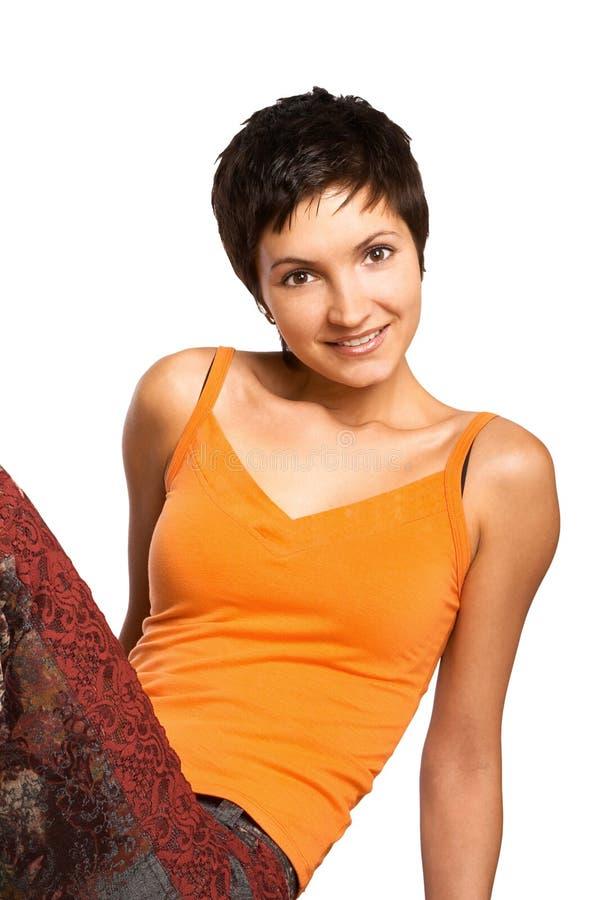 kobieta fizycznej fitness zdjęcie stock