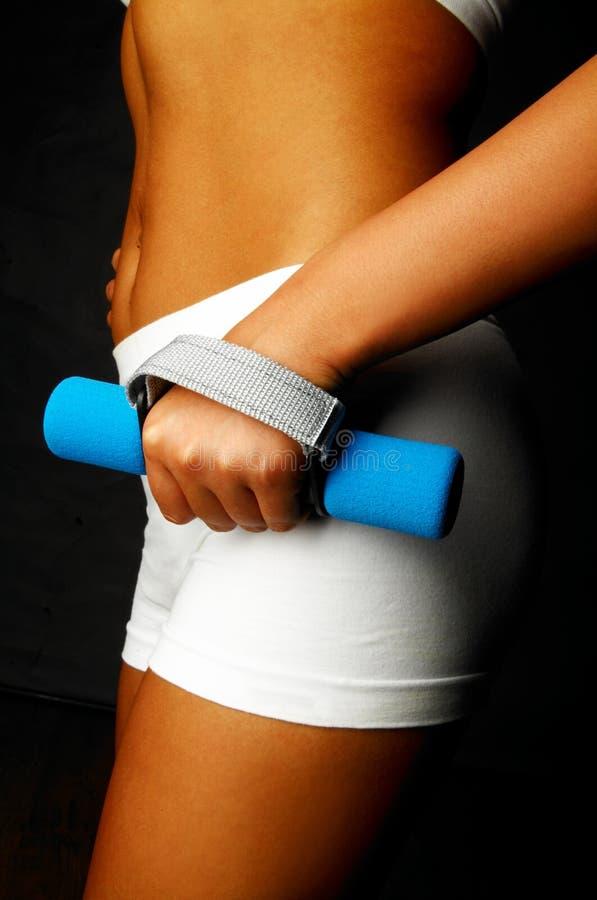 kobieta fizycznej fitness obrazy royalty free