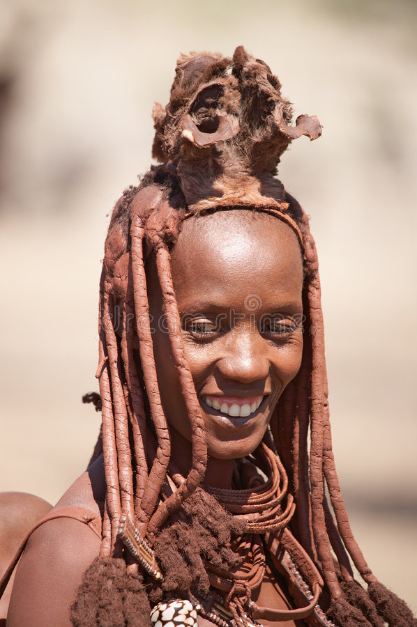kobieta himba fotografia stock