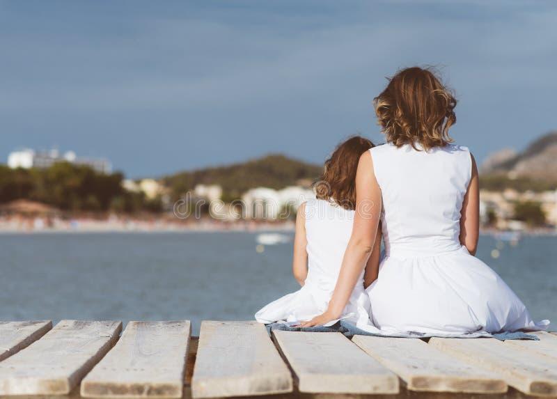 Kobieta i dziecko obraz royalty free
