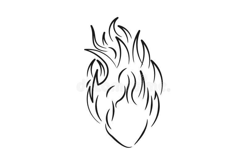 Kobieta i włosy podpalająca loga projekta inspiracja ilustracji