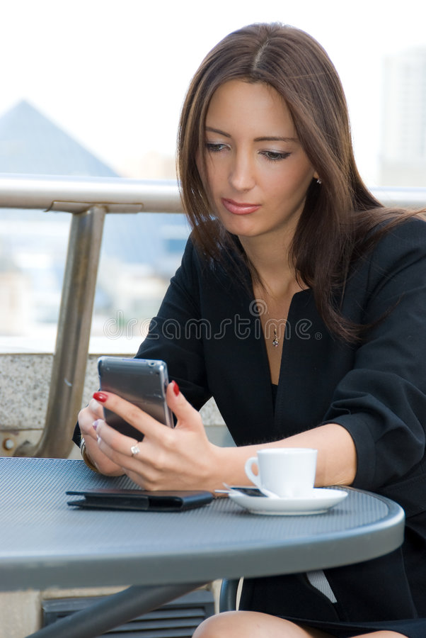 kobieta jednostek gospodarczych zdjęcia stock