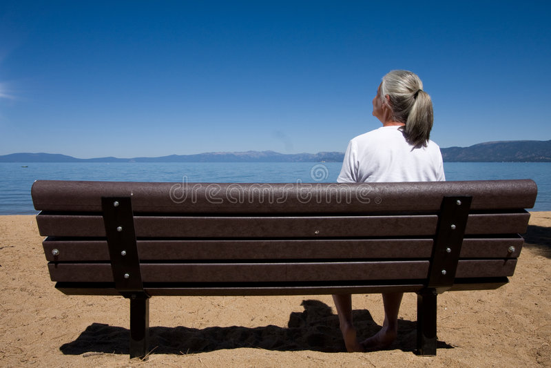kobieta kanap zdjęcia stock