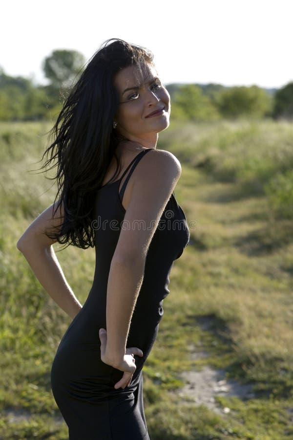 kobieta lato zdjęcia royalty free