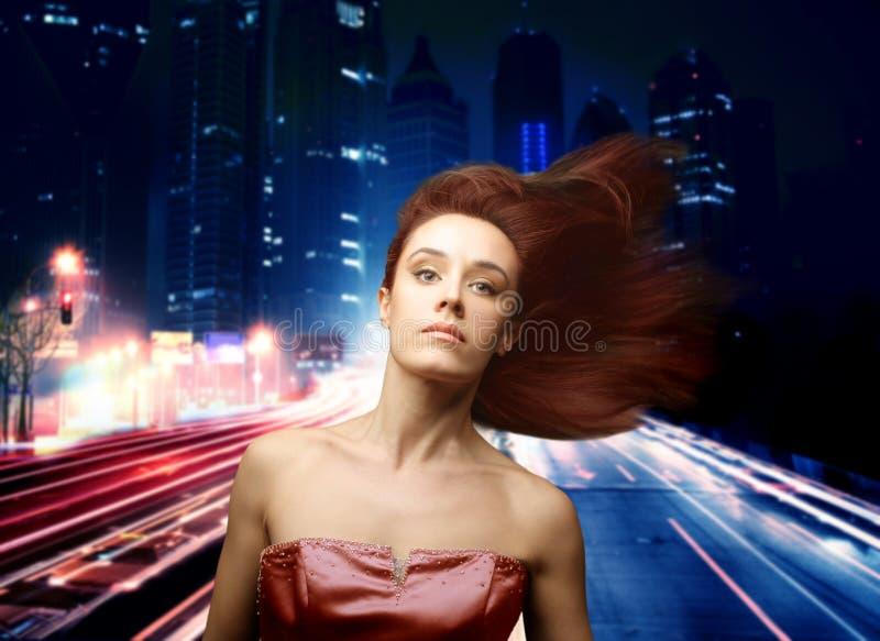 kobieta miasta fotografia stock