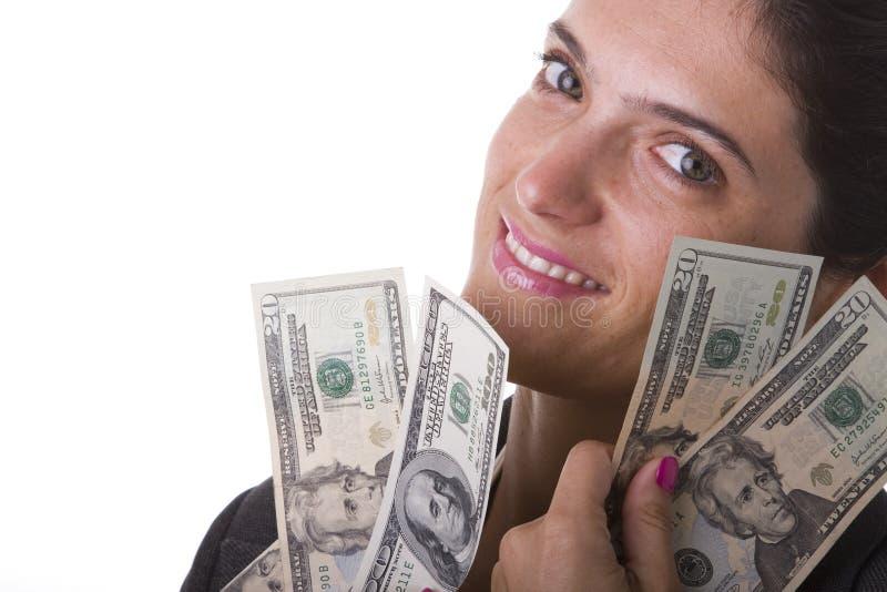 kobieta milionaire zdjęcia stock