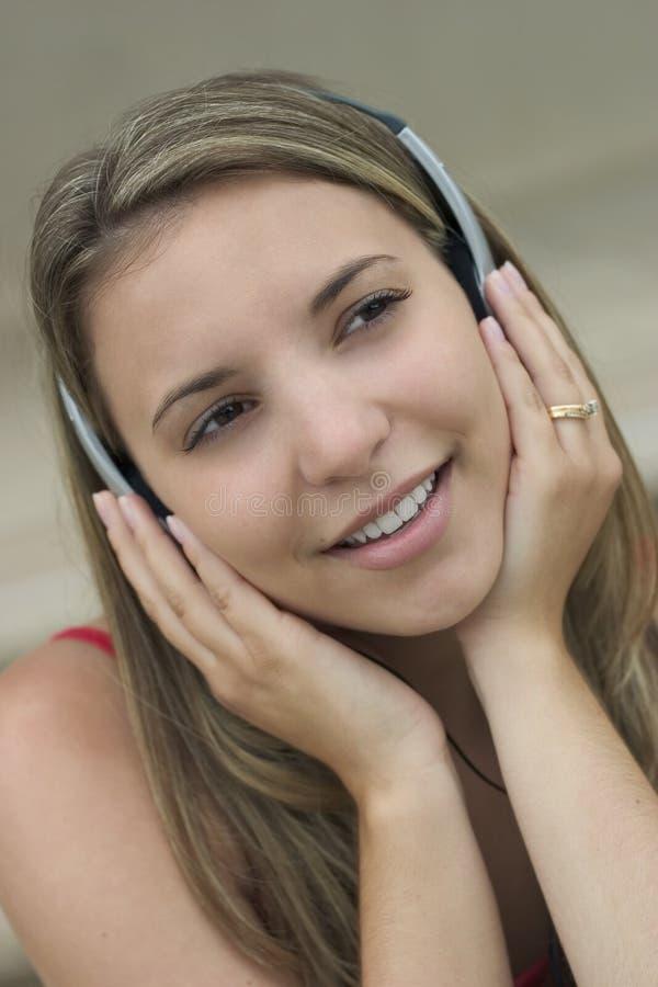 kobieta muzycznej zdjęcie stock