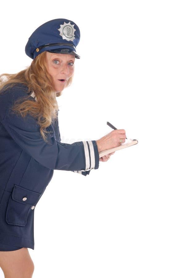 kobieta oficer policji obraz stock