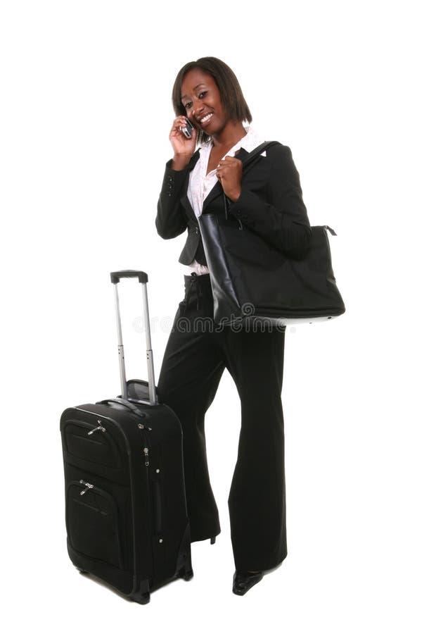 kobieta podróżna jednostek gospodarczych obraz stock