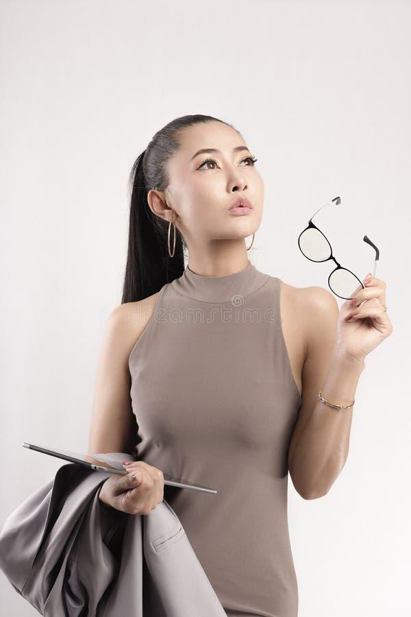 Kobieta pracująca fotografia stock