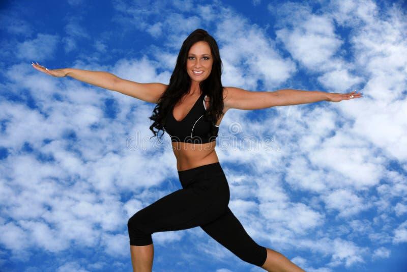 Download Kobieta Pracująca Out obraz stock. Obraz złożonej z aerobiki - 28959447