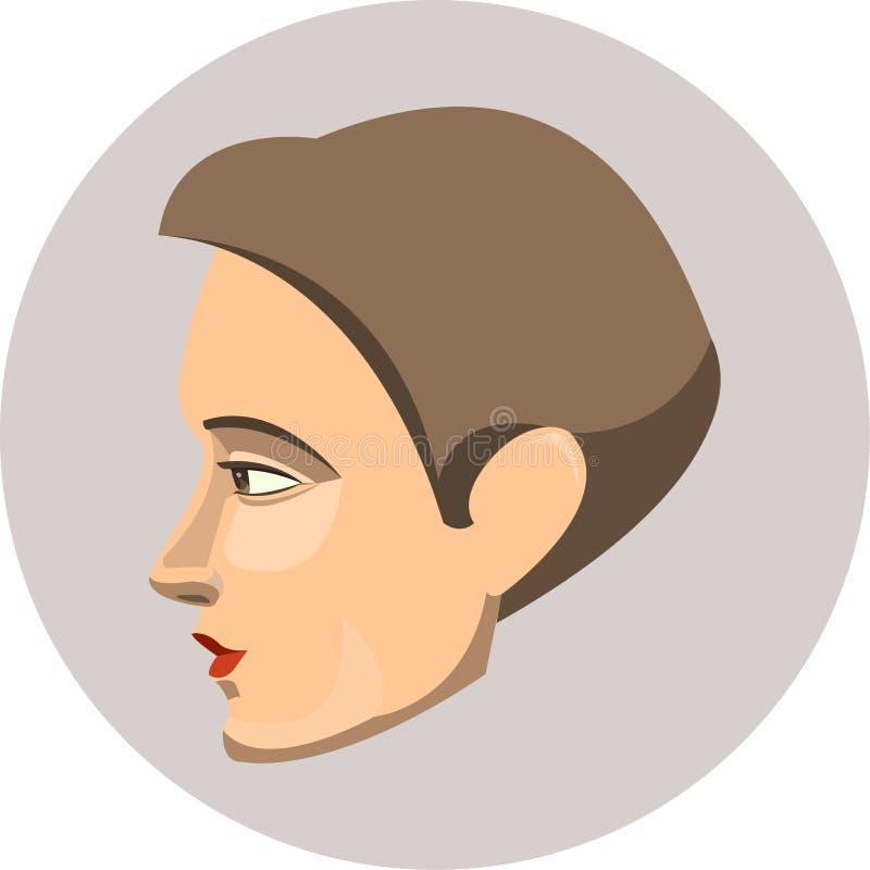kobieta profilowa zdjęcie royalty free