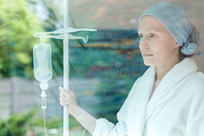 Kobieta przed operacją zdjęcia royalty free
