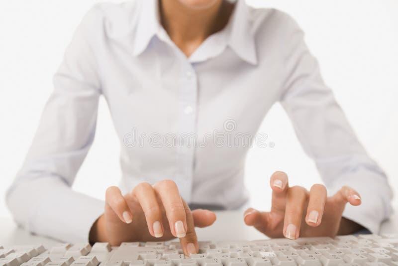 Kobieta przy pracą zdjęcia royalty free