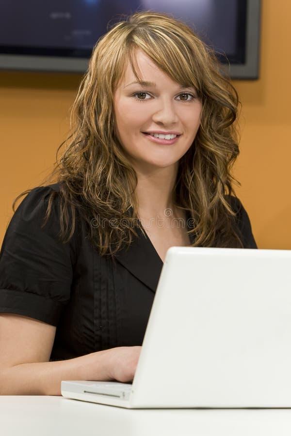 kobieta regulacyjne fotografia stock
