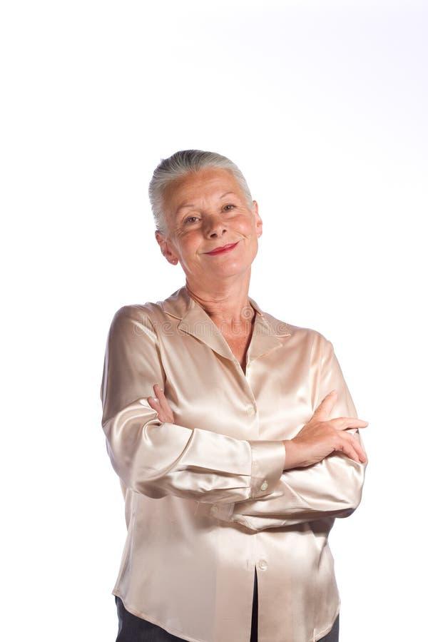 kobieta starsza wykonawczy zdjęcie stock