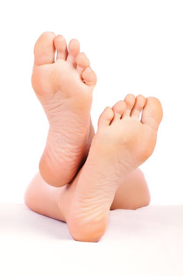 kobieta stopy zdjęcie stock