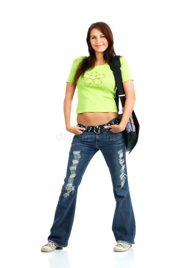 kobieta studencka obrazy stock