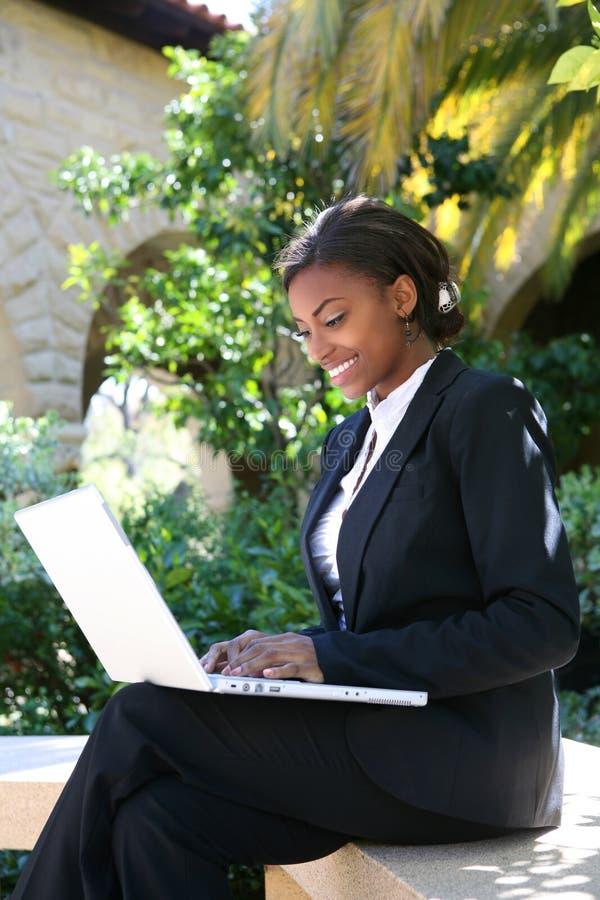 kobieta studencka jednostek gospodarczych fotografia royalty free