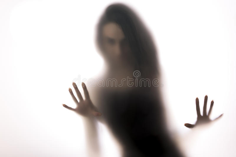 kobieta sylwetki zdjęcia stock