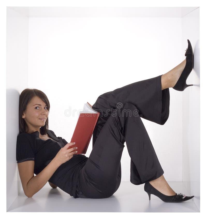 kobieta sześcianu zdjęcie stock