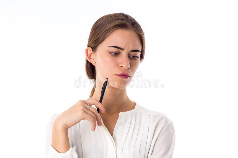 Kobieta trzyma rękę fotografia stock