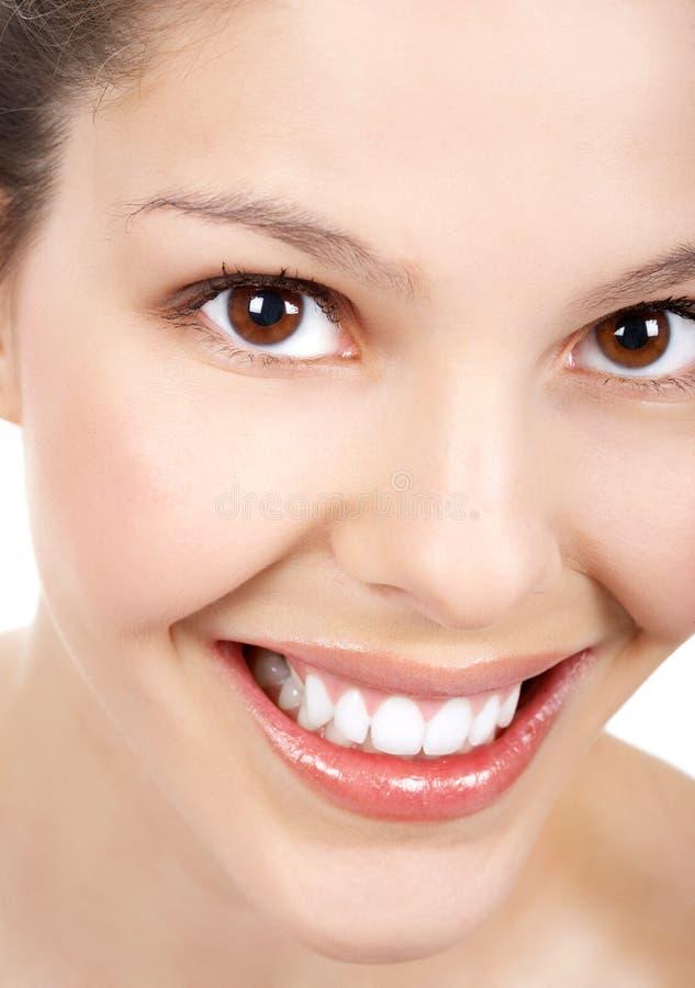 kobieta uśmiech obrazy stock