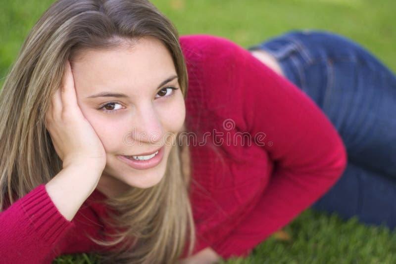 kobieta uśmiech zdjęcie royalty free
