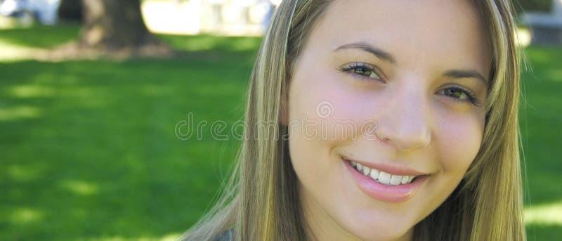 kobieta uśmiechnięta obraz stock