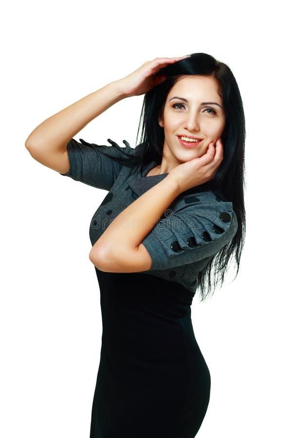 Kobieta w ostrej sukni obrazy royalty free
