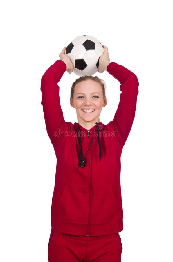 Kobieta w sporta pojęciu zdjęcia stock