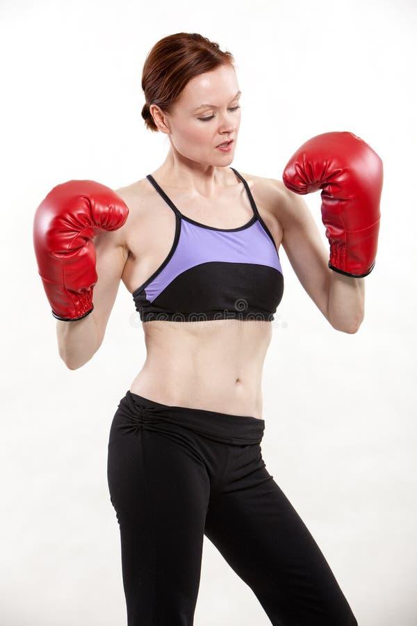 Kobieta w trening modzie zdjęcie royalty free