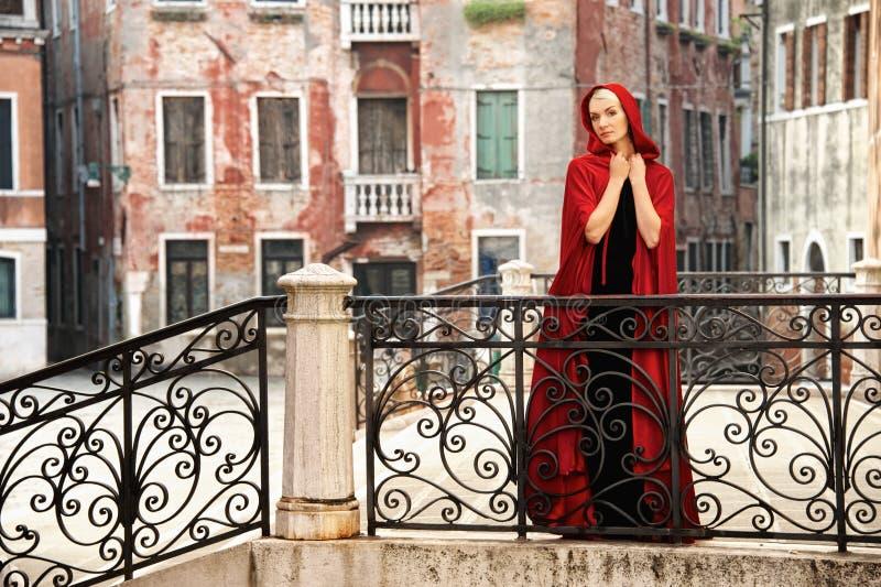 Kobieta w Wenecja obraz stock