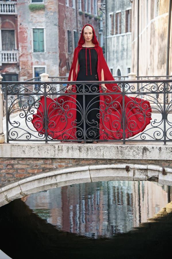 Kobieta w Wenecja fotografia stock
