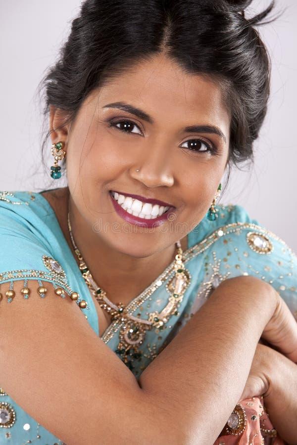 Indiańska kobieta zdjęcie royalty free