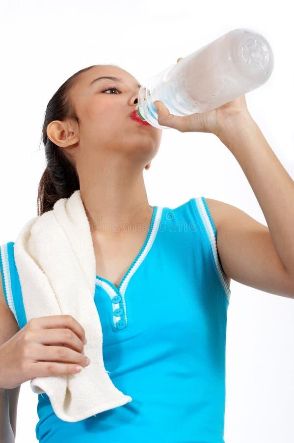 kobieta wody pitnej, zdjęcie royalty free