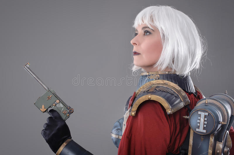 Kobieta wojownik obraz stock