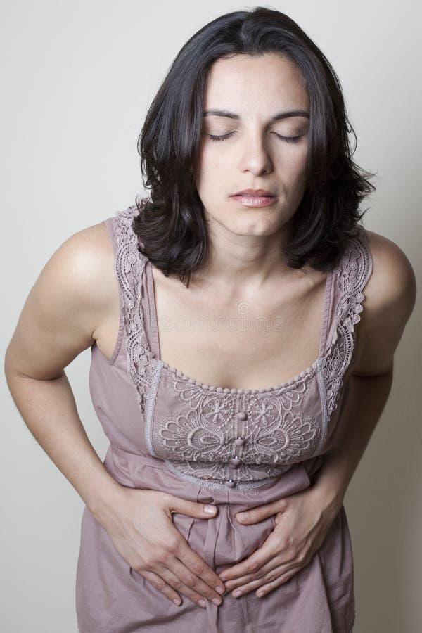 Download Kobieta Z żołądek Obolałością Obraz Stock - Obraz złożonej z gallstone, osoba: 28968147