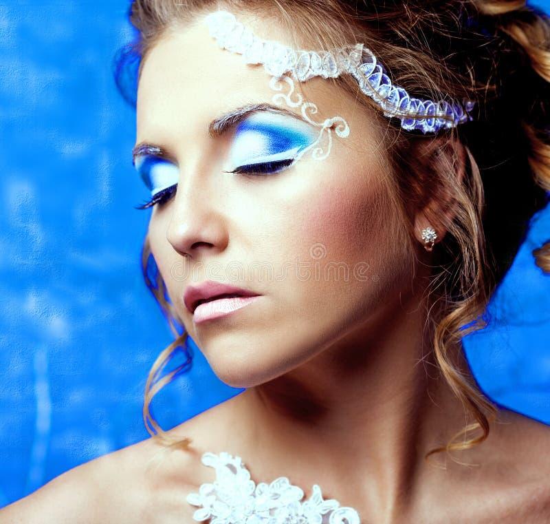 Kobieta z makeup fotografia stock