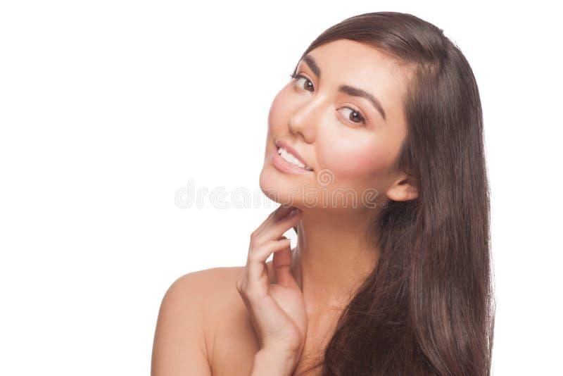 Kobieta z zdrową skórą obraz royalty free