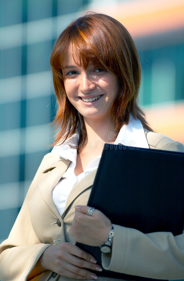 kobieta zawodowa jednostek gospodarczych obrazy stock