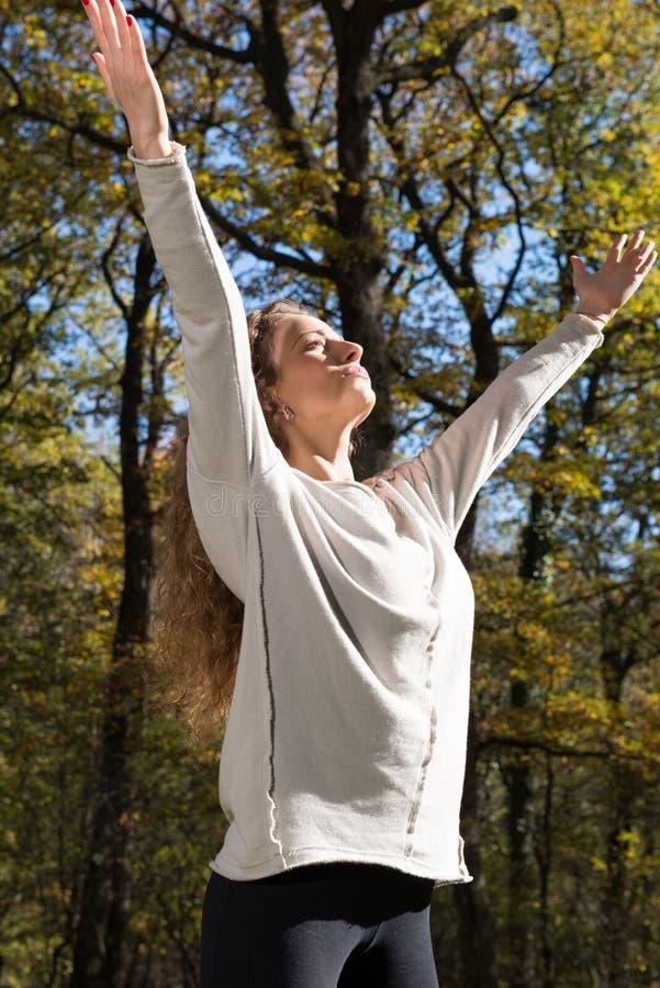 Kobiety ćwiczenie zdjęcia royalty free