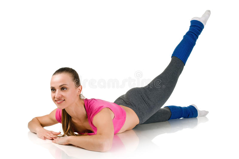 Kobiety ćwiczenie zdjęcie stock