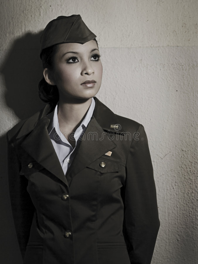 kobiety armii personelu obrazy stock